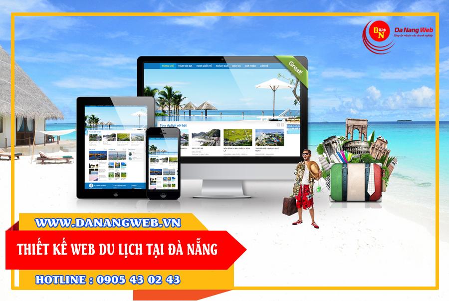 thiết kế website du lịch tại thành phố đà nẵng giá rẻ